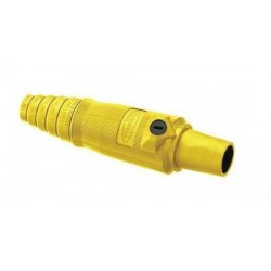 Hubbell Connector Single Pole 400A Female (2/0-4/0) Yellow