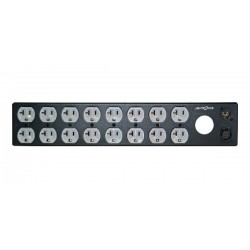 Lightronics Edison Duplex Rack Mount Dimmer Back Panel