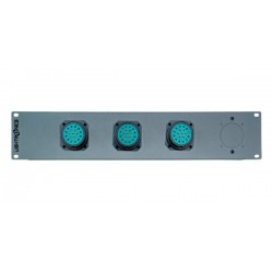 Lightronics 18 Channel Socapex Rack Mount Dimmer Back Panel