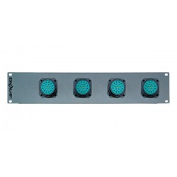 Lightronics 24 Channel Socapex Rack Mount Dimmer Back Panel