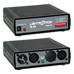 Lightronics Protocol Translator/Converter DMX-512 Input - LMX-128 Out.