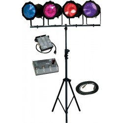 Lightronics Lighting in a Box - FC816/AS40L Kit with Par56 Fixture/Lamp Upgrade