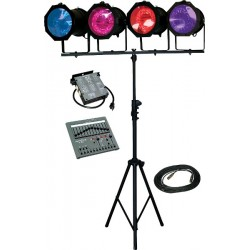 Lightronics Lighting in a Box - TL3012/AS40L Kit with Par56 Fixture/Lamp Upgrade and DMX Upgrade