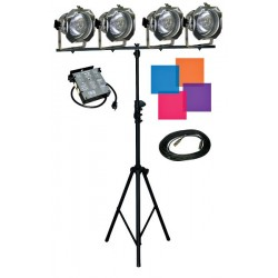 Lightronics Lighting in a Box - AS40L Kit w/PAR56 Lamp/Fixture Upgrade & DMX Upgrade