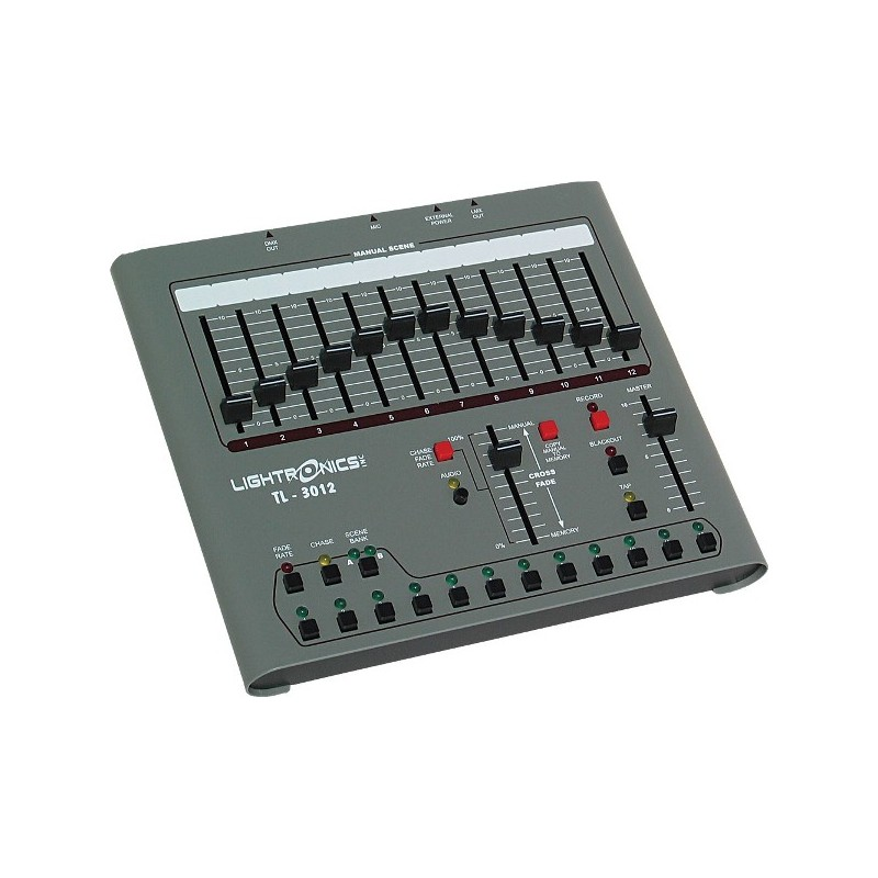 Lightronics Lighting Control Console - 12 Channel with DMX