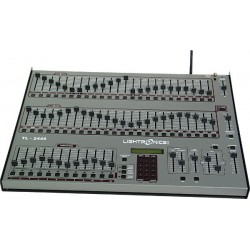 Lightronics Lighting Console - 48 Ch 8 Moving Light Controller with Built-in Wireless Transmitter