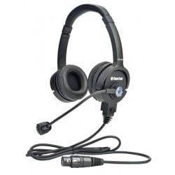 Clear-Com Double-Ear Standard Headset with Mic