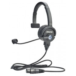Clear-Com LW Single-Ear Standard Headset XLR-7F with Mic