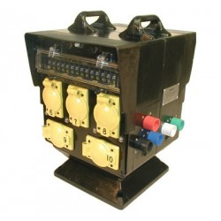 Lex 200A 3 Phase Hammerhead to Locking Receptacles - Reverse Ground & Neutral