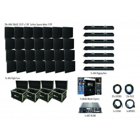 ADJ AV6X LED Video Panel - 7X4 Package