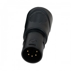 Accu-Cable RJ45 to 5-Pin XLR DMX Adapter - 1 Male