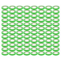 Rosco GaffTac 1/2in. Fluorescent Green Spike Tape 12mm x 25m - 96 ct.