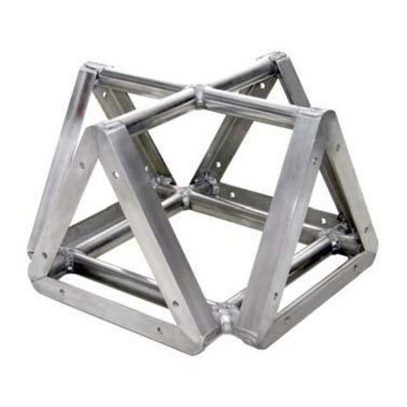 Applied NN 8in. Euro Style Tri-Truss Cross 4-Way Adapter