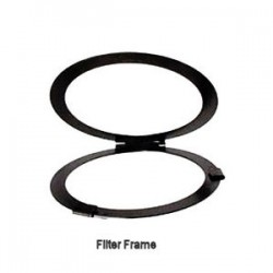 Altman Black Hinged Filter Frame 9in. Diameter