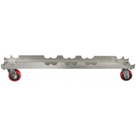 "Light Source Mega-Truss Dolly for 4-12"" Truss (48"" Long) - Aluminum Finish"
