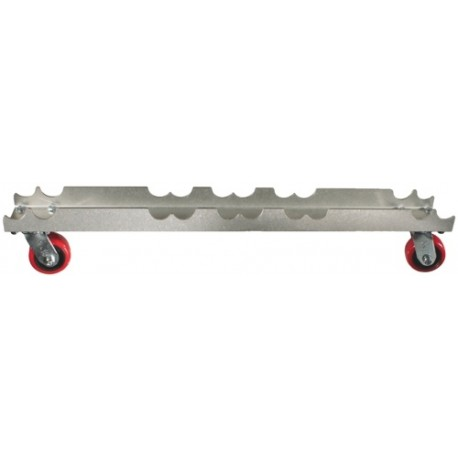"Light Source Mega-Truss Dolly for 3-16"" Truss (48"" Long) - Aluminum Finish"