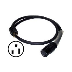 12/3 SJOOW Cable - 15A 125V Hubbell Edison Connectors - 40'