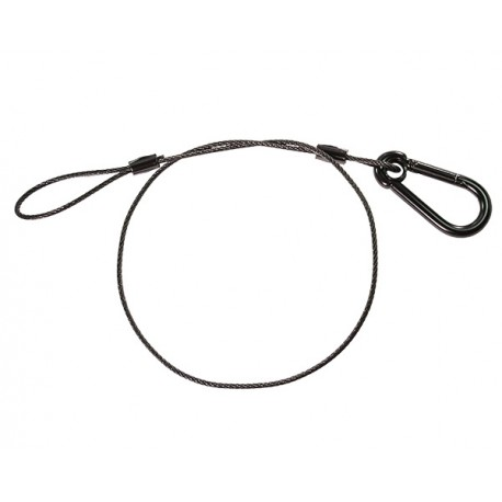 Black Safety Cable - 30 inches