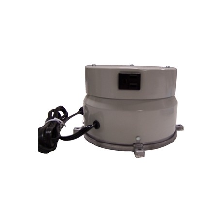 heavy duty motor box w/ rotating electrical outlet 4 amp