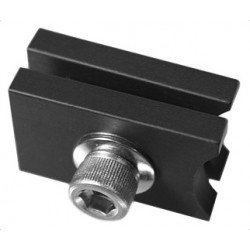 Light Source M140 End Stop - Black Anodized