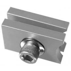 Light Source M140 End Stop - Aluminum Finish