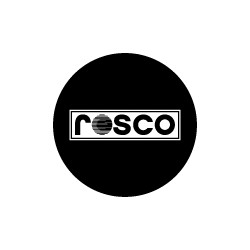 Copy of Rosco Black and White or 1 Color Glass Gobo - Custom Design, A, B or M Size