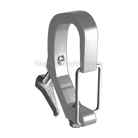 Light Source Safety-Clamp - Aluminum Finish - Light Source MYM