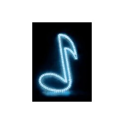 MBT Blue Music Note Window Light