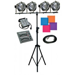 Lightronics Lighting in a Box - TL4008/AS40L Kit with DMX Upgrade