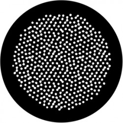Rosco HD Plastic Gobo - Egg Dots