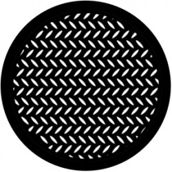 Rosco HD Plastic Gobo - Diamond Grid