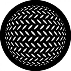 Rosco HD Plastic Gobo - Diamond Sphere