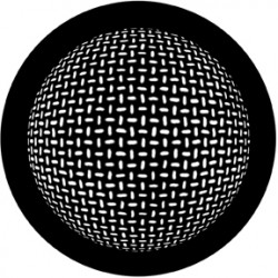 Rosco HD Plastic Gobo - Grid Sphere