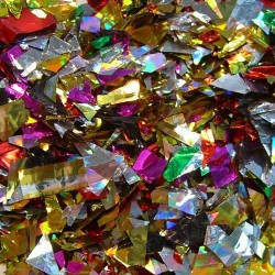 Omnisistem Multicolor Metallic Confetti - 2.6 lb Bag