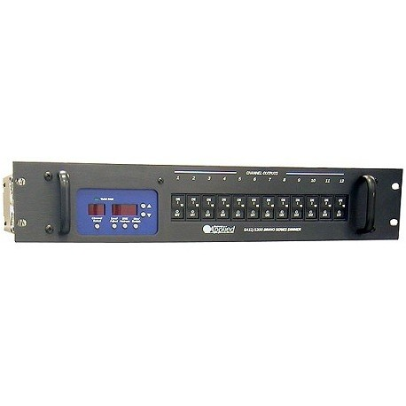Applied NN Bravo Touring Dimmer - 12 Channel 1.2kW/ch - Terminal Block Output