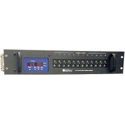 Applied NN Bravo Touring Dimmer - 12 Channel 1.2kW/Ch - Patch Bay Insulated-tip Jack