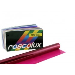 Rosco Roscolux 43 Deep Pink - 20in. x 24in. Sheet