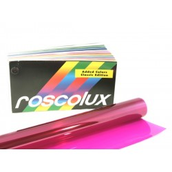 Rosco Roscolux 346 Tropical Magenta - 20in. x 24in. Sheet