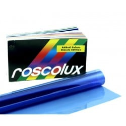 Rosco Roscolux 60 No Color Blue Gel