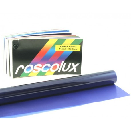Rosco Roscolux 125 Blue Cyc Silk Gel