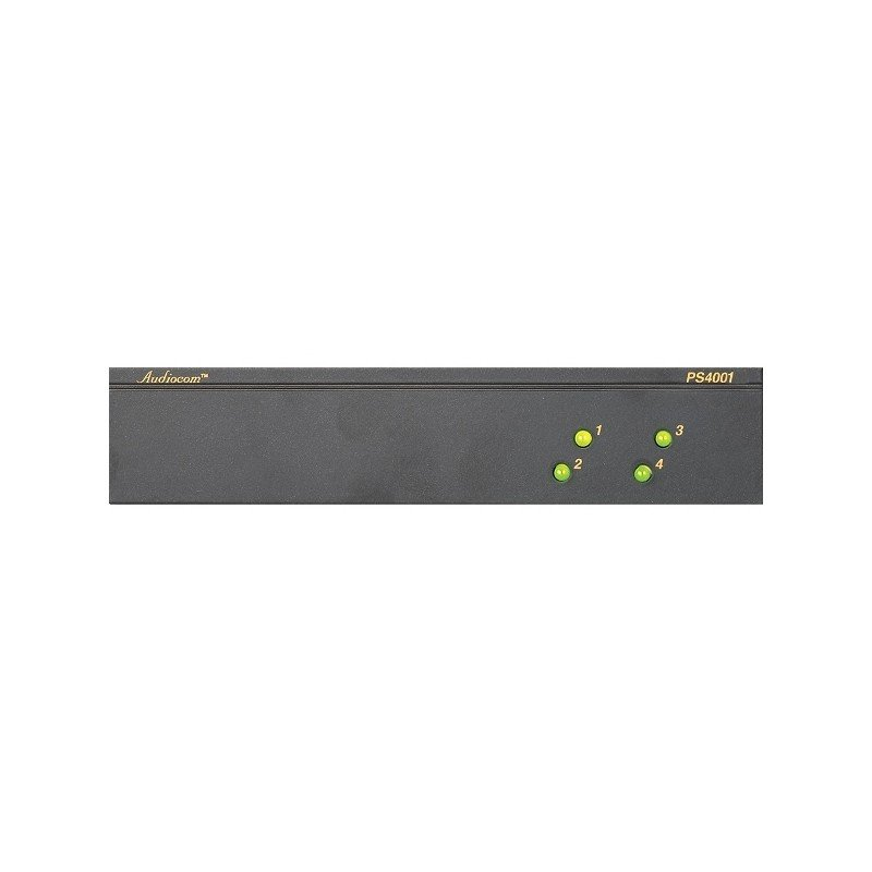Telex Rts Ps 4001 Four Channel Power Supply Stage