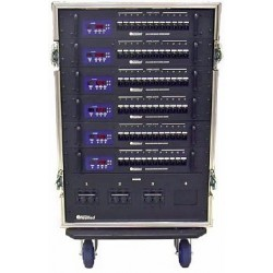 24 Ch 2.4 kW Straight Touring Dimmer Rack