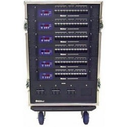 36 Ch 2.4kW Straight Touring Dimmer Rack