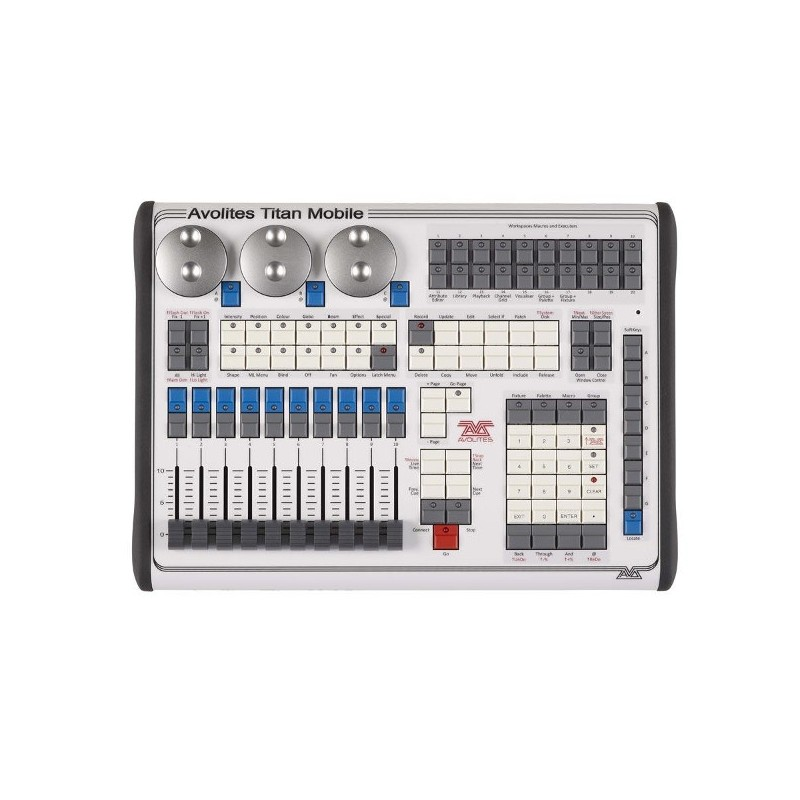 Avolites titan mobile console stage lighting store for Console mobile