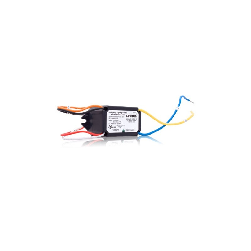 Leviton Emergency Luminaire Control 10A Switching Loads Only - Stage ...