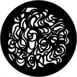 Rosco Steel Gobo - Swirls