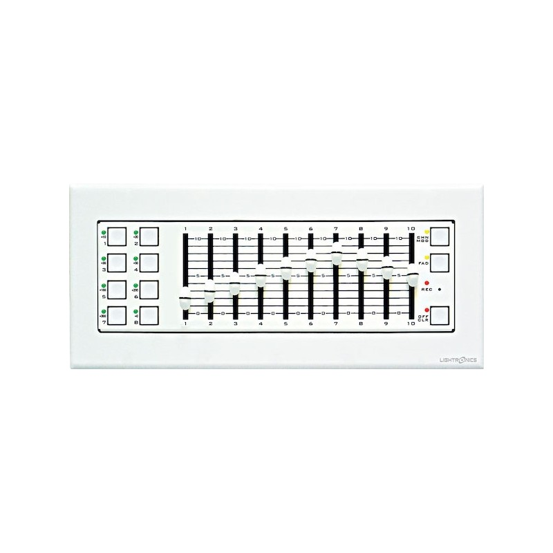 Lightronics Sc810 Architectural Controller 5 Gang Wall