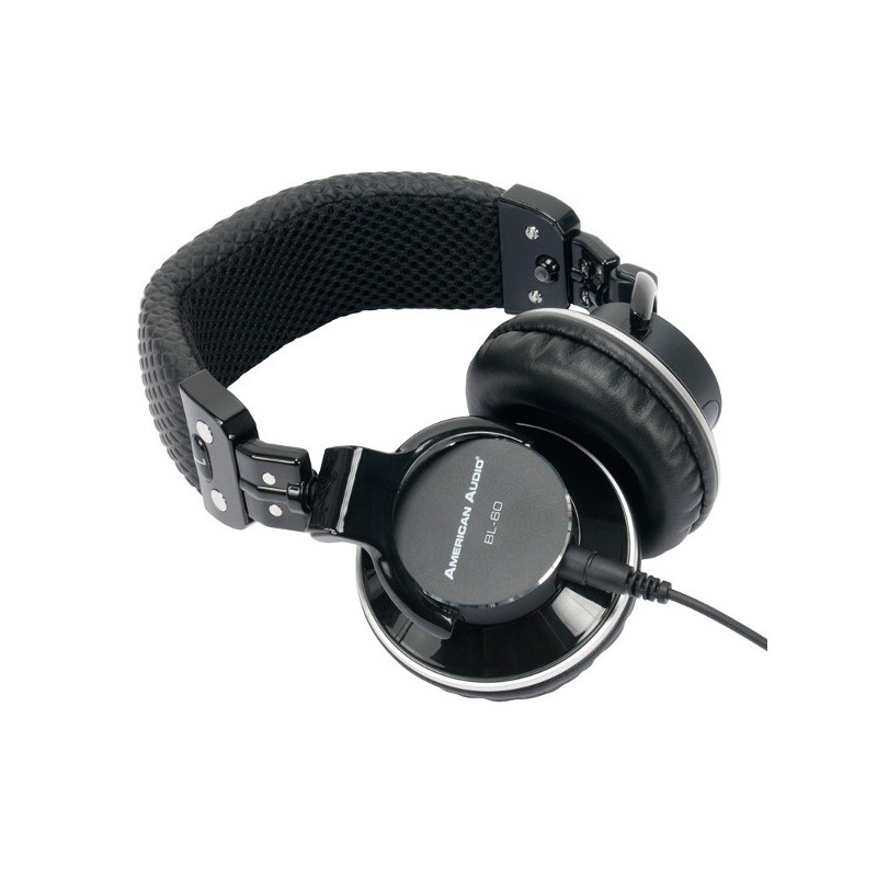 ADJ American Audio BL-60 On-Ear Professional Monitoring Headphones