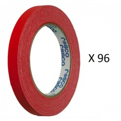 Rosco GaffTac 1/2in. Red Spike Tape 12mm x 25m - 96 ct.