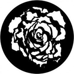 Rosco Steel Gobo - Blooming Rose